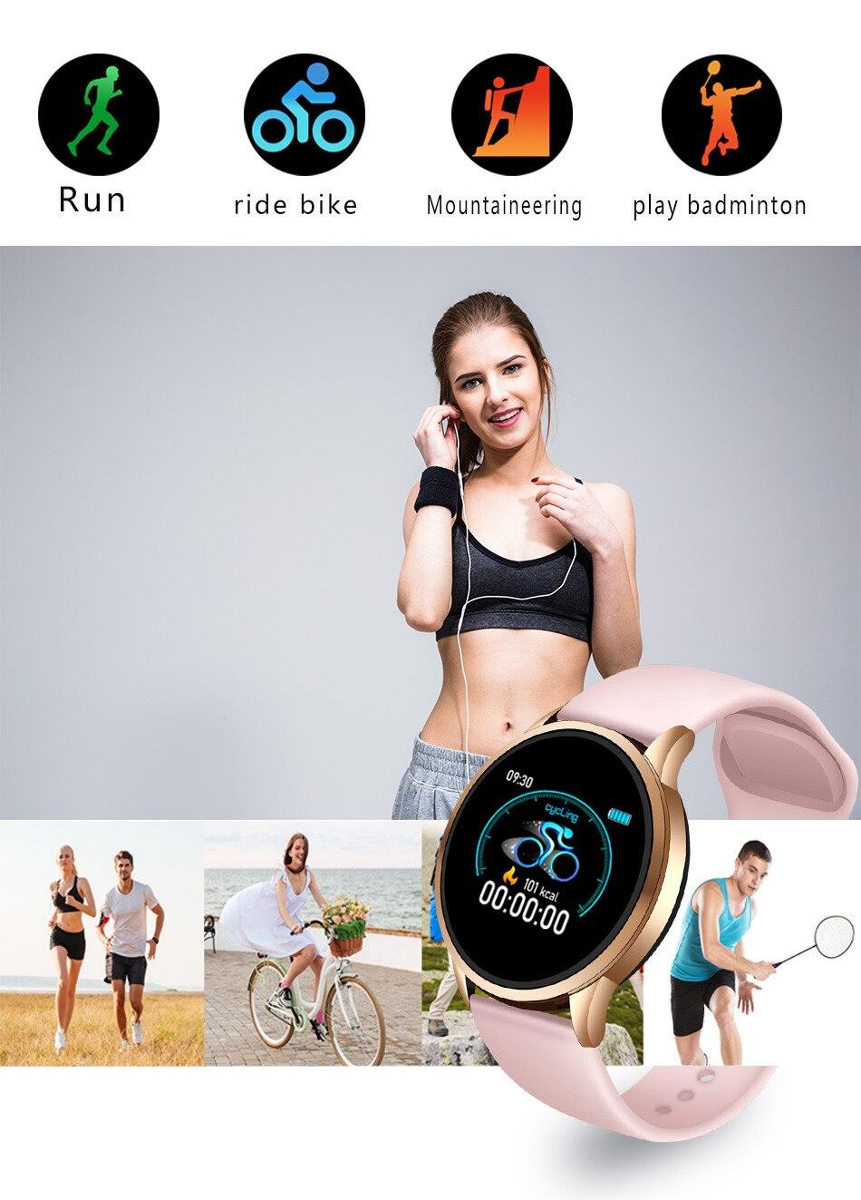 sports smart watch for women