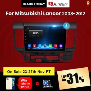 Junsun V1 pro 2G+128G Android 10 For Mitsubishi Lancer 2007 - 2013 Car Radio Multimedia Video Player Navigation GPS 2 din dvd