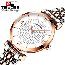 TEVISE New Women Luxury Brand Watch Simp