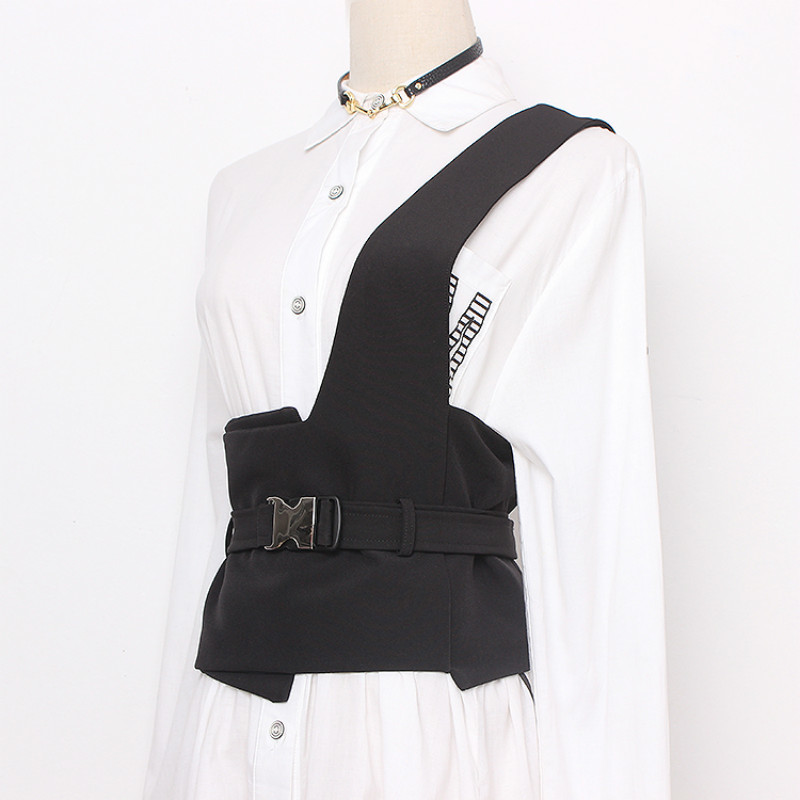 Fashion Vest Camisole Waist Seal Woman Width Cummerbund Decoration Cloth Belt