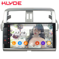 Klyde 10.1 IPS 4G Android 9.0 Octa Core 4GB+64GB DSP BT Car DVD Multimedia Player Radio For Toyota Prado Land Cruiser 150 LC150
