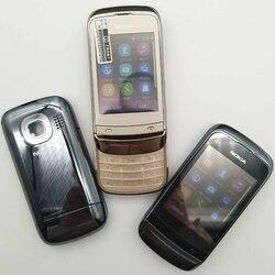 Отремонтированный мобильный телефон Nokia, разблокированный, оригинальный, с одной sim-картой, на одной sim-карте, на один год гарантии, восстанов...