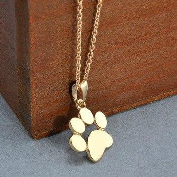 Dog Paw Footprint Necklace 2