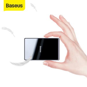 Baseus 15W Qi Wireless Charger Portable Ultra Thin Wireless Charging Pad for iPhone 11 Pro X XS XR 8 Samsung S10 S9 Xiaomi mi 9(China)