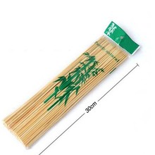 Disposable Wood Sticks Barbecue Tools Natural BBQ Bamboo Skewers for Shish Kabob Grill Fruit vegetable
