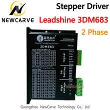 Motorista original 3dm683 20-60vdc 0.5-8.3a do motor deslizante da fase de leadshine 2 newcarve