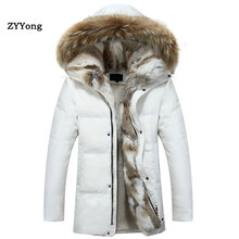 Green Winter Parka Coat Men Woman Down Jacket Clothing Hoode
