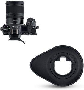 Image 3 - JJC Soft Eyecup Eyepiece Viewfinder Eyeshade for Nikon Z7 Z6 Z5 Z6II Z7II Camera Eye Cup Replaces DK 29 360 Degree Rotatable ABS