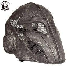 Дышащие тактические пейнтбол маски Проволочная сетка тамплиеров