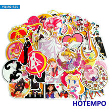 75pcs Anime Sailor Moon Stickers for Girl Children Kids Gift DIY Letter Diary Scrapbooking Stationery Pegatinas Phone