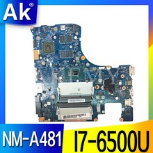 NM-A481 scheda madre Del Computer Portatile per Lenovo Ideapad 300-15ISK mainboard originale I7-6500U con scheda video(China)