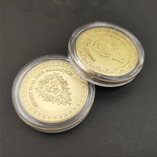 World of warcraft moeda de ouro cosplay prop a horda e a aliança dupla face moeda de metal