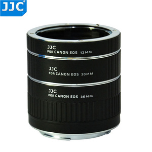 Image 2 - JJC 12mm 20mm 36mm AF מאקרו Tube הארכת טבעת מתאם עבור Canon EF EF S מצלמה 760D 750D 700D 650D 600D 550D 70D 7D 5D MarkIII