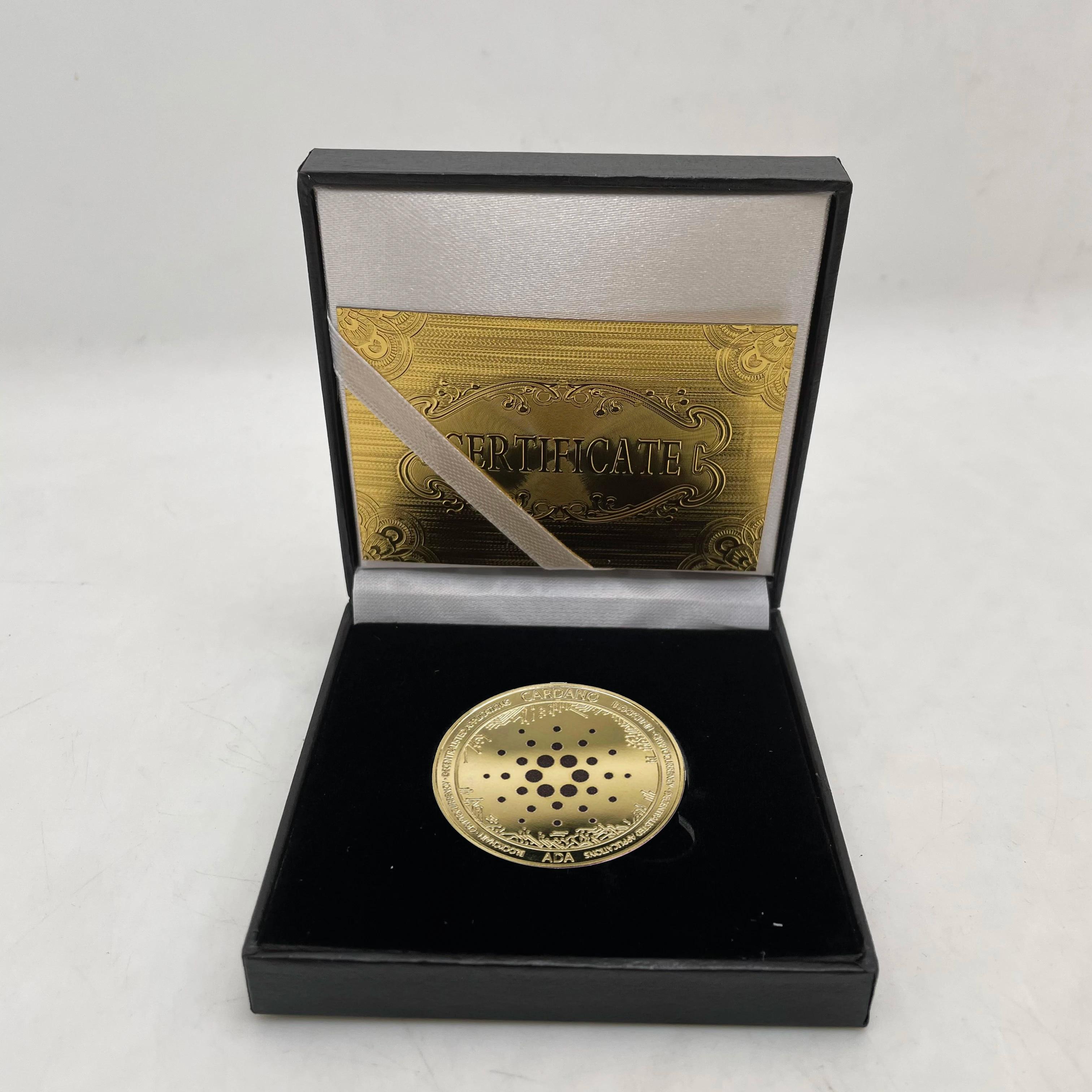 Bitcoin Gold Ethereum Silber