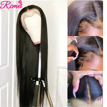 Rcmei 13x4 Lace Front Human Hair Wig Brazilian Straight Wig