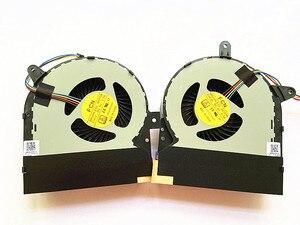 Nuevo original ordenador portátil CPU GPU ventilador de refrigeración para ASUS ROG G752 G752V G752VY G752VT refrigerador ventilador DFS200405BI0T DFS201005BI0T