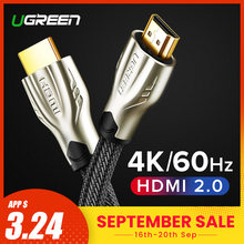Ugreen kabel HDMI 4K HDMI na HDMI 2.0 kabel dla PS4 Apple TV 4K Splitter przełącznik Box Extender 60 hz wideo Cabo kabel HDMI(China)