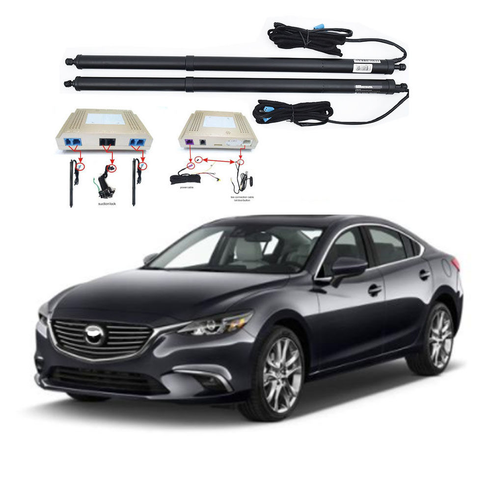 New Electric Tailgate Refitted For MAZDA 6 2012 -2020 Tail Box Intelligent Electric Tail Door Power Tailgate Lift Lock