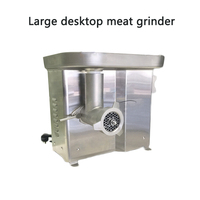 50 150kg/h Large Commercial meat grinder Multi function pork belly/beef/meat mincer DRB JR12 Mushroom crusher 220V 0.55KW 1pc