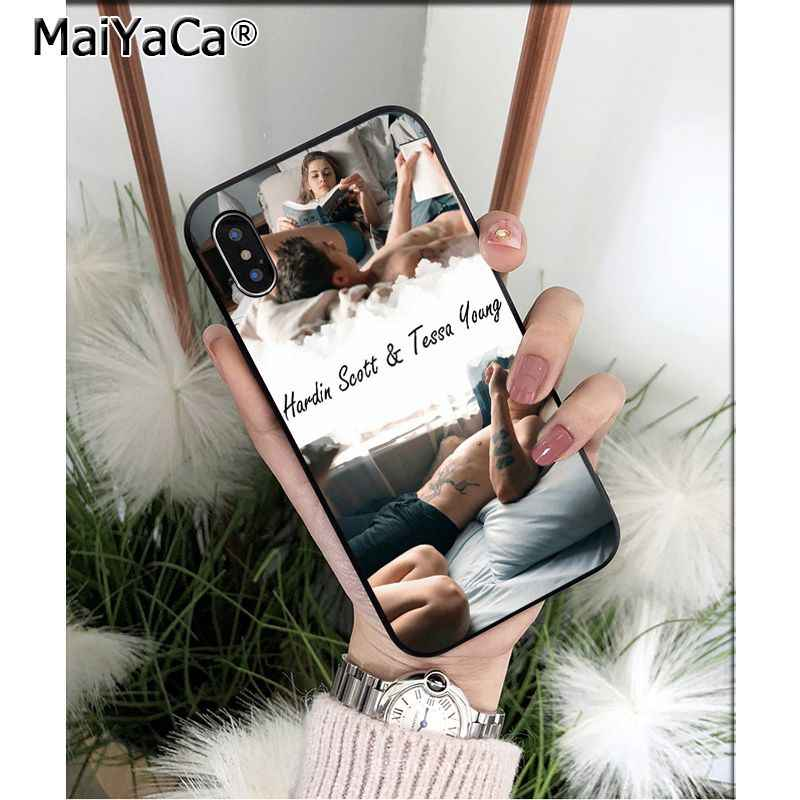 Maiyaca 後映画 tpu ソフト電話ケース apple の iphone 5 8 7 6 6 s プラス x xs 最大 5 5 s 、 se xr 11 11pro 最大カバー