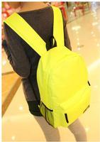 2020 di nuovo modo di colore della tela di canapa zaino grande capacità di corsa del sacchetto femminile all'aperto studenti zaino