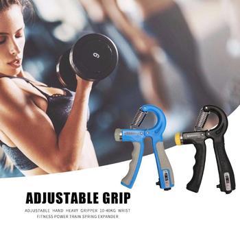 10-40kg Adjustable Heavy Gripper Hand Grip Strengthener Gym Power Fitness Exerciser Wrist Strength Training Spring Expander 1