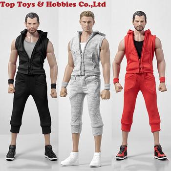 цена на In stock Hot Heart 1/6 VA04 Clothes Costume Accessories Fit 12'' Muscular Male Figure toy 3 colors