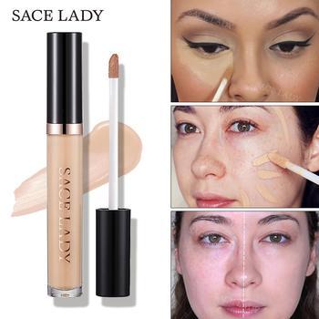 SACE LADY Full Cover Pro korektor kremowy makijaż twarzy korektor płynna baza do makijażu dla oczu ciemne koła twarzy naturalny kosmetyk tanie i dobre opinie Wszystkich rodzajów skóry Pożywne Kontrola oleju Wodoodporna wodoodporny Krem nawilżający Naturalne W pełnym rozmiarze