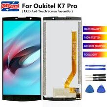 KOSPPLHZ 100% מקורי חדש עבור OUKITEL K7 Pro LCD תצוגת מסך מגע Digitizer עצרת 6.0 אינץ עבור OUKITEL K7Pro K7 + + כלים