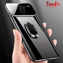 Luxury Mirror Slim Case For Realme X2 Pro Case Finger Ring Holder Anti