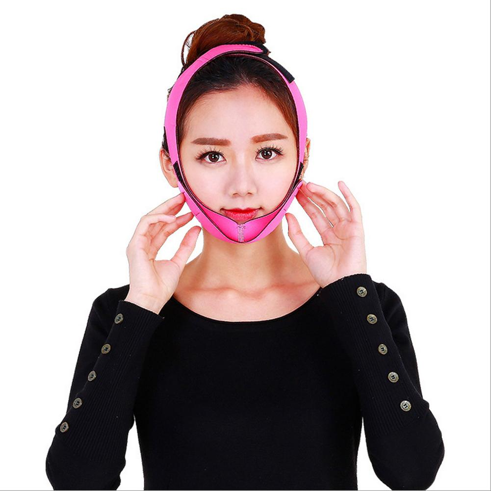 Hot Chin Cheek Slim Lift Up Anti Wrinkle Mask Strap Band V Face Line Belt Women Slimming Facial Beauty Tool
