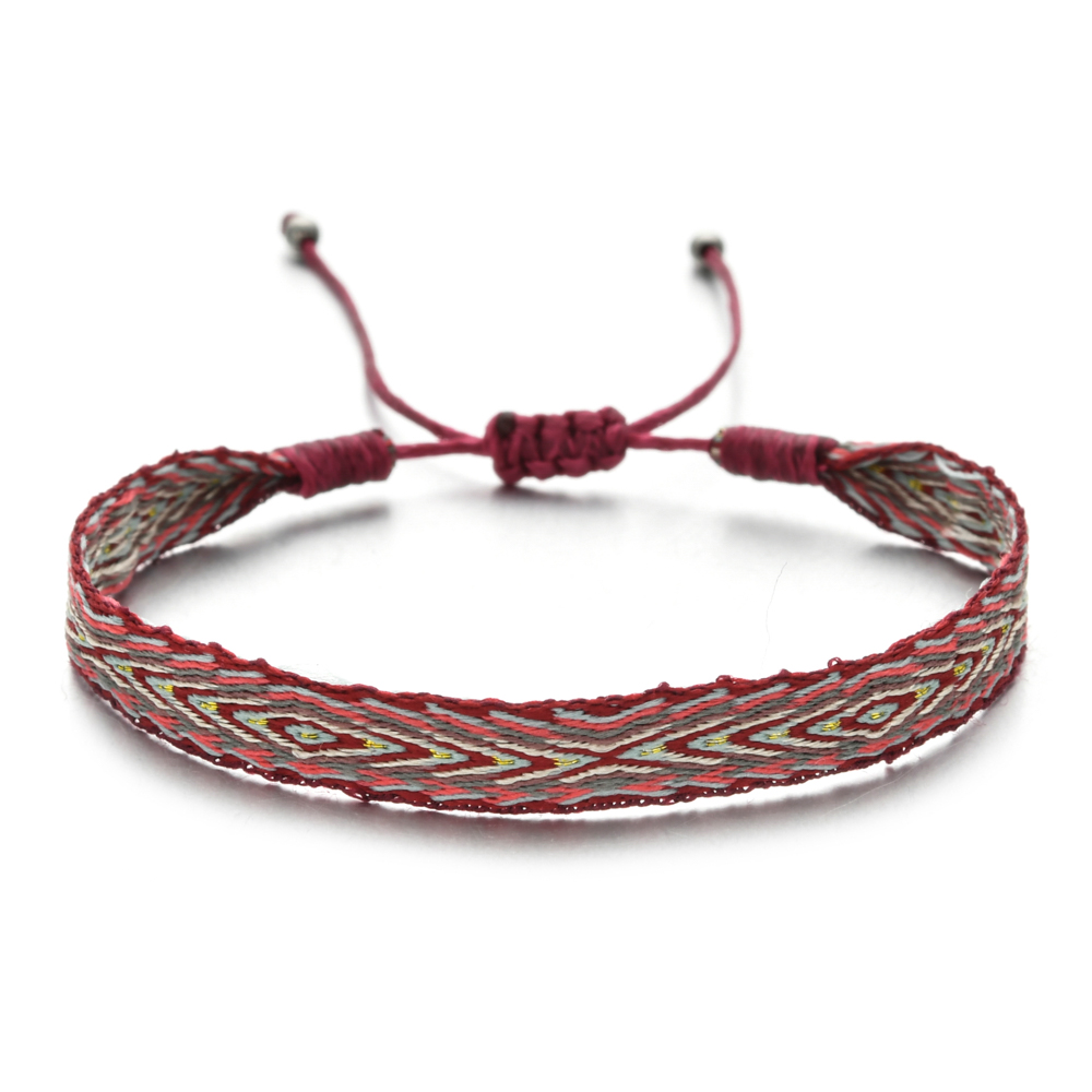 ZMZY плетеный браслет ручной работы в стиле бохо, простой браслет дружбы из веревки, мужские, женские, пляжные браслеты