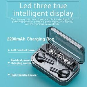 Image 4 - 278 tws bluetooth 5.0イヤホンワイヤレスヘッドフォン9Dステレオスポーツ防水ヘッドセット耳栓マイク2200mah充電ボックス