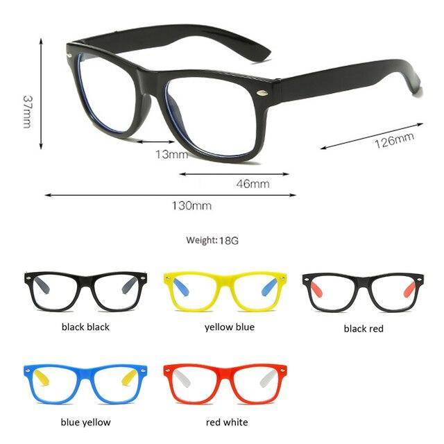 винтажные очки детский анти синий светильник детские солнцезащитные фотография