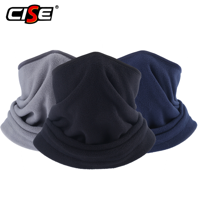 Neck Gaiter Face Mask Cover For Winter Warmer Windproof Polar Fleece Motorcycle Scarf Balaclava Ski Cycling Ski Riding Snowboard