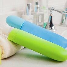 Портативная дорожная зубная щетка чехол для зубной пасты держатель