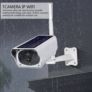 1080P HD Solar Panel WIFI Camera 2MP IP Camera Wire-Free Battery Outdoor IP67 WaterProof Security CCTV Video PIR Two Way Audio 1