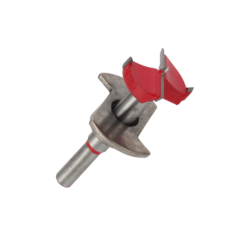 Free Shipping Woodworking Tools DIY 15/20/25/30/35mm Carbide Hole Saw Wood Drill Adjustable Precision Scale Hole Drill Bit Set