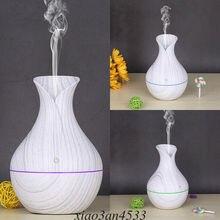 Air-Humidifier Diffuser Essential-Oil Mist-Aroma Ultrasonic LED White Mini 3 130ml Wooden