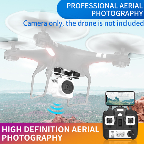 2MP Shockproof WIFI Camera Viewing Live Video Helicopter Accessories RC Quadcopter Wide Angle Real Time Lens For SH5HD FPV Drone Islamabad