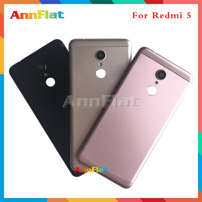 High Quality For Xiaomi Redmi 5 / Redmi 5 Plus Back Housing Battery Cover Door Rear Cover Replacement