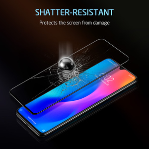 Image 3 - Protezione Dello Schermo per Xiaomi Mi ESR 8 9 Pro SE CC9e 3D Copertura Completa Proteggere Anti Blu ray Temperato vetro per la Nota Redmi 7 8 K20 Pro