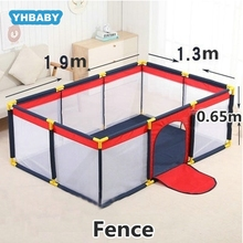 Baby Playpen Dry Pool With Balls Baby Fence Safety Barrier For 0-6 Years Kids Children Playpen Game Playpen Tent For Infants