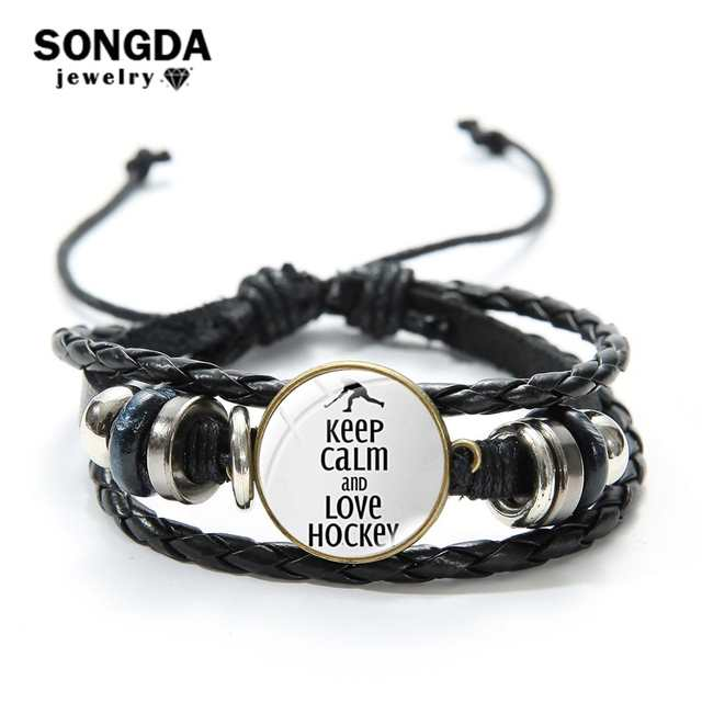 Songda Keep Calm And Love Hockey