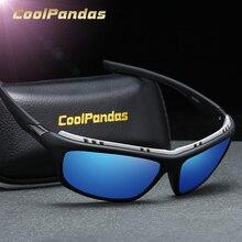 CoolPandas 2020 Fashion Polarized Sunglasses Men's Driving Shades Outdoor sport For Men Brand Design Oculos lunette soleil homme