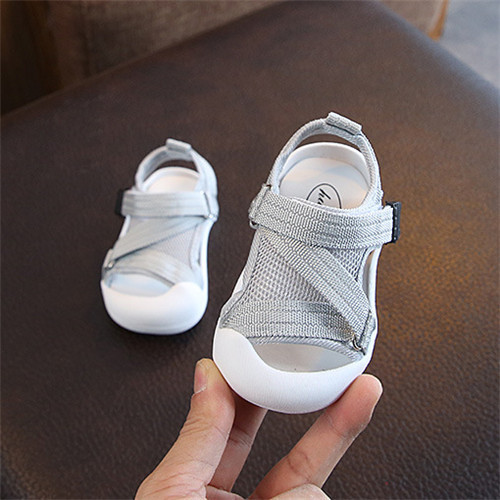 Mageed Anna Summer Little Kids Shoes for Boy Sandals Toddler Baby Shoes Soft Rubber Bottom