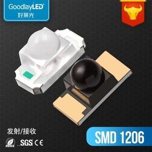 2000 шт Горячая продажа 850NM 940nm 1206 ИК приемник передачи Smd led для ИК-экрана диодный светильник