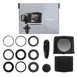 Image 2 - Smartphone טלפרומפטר עבור Canon Nikon Sony DSLR מצלמה תמונה סטודיו עבור Youtube ראיון וידאו לחשן צג טלפרומפטר