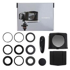 Смартфон Teleprompter для Canon Nikon Sony DSLR камера фотостудия для Youtube интервью видео Prompter монитор Teleprompter