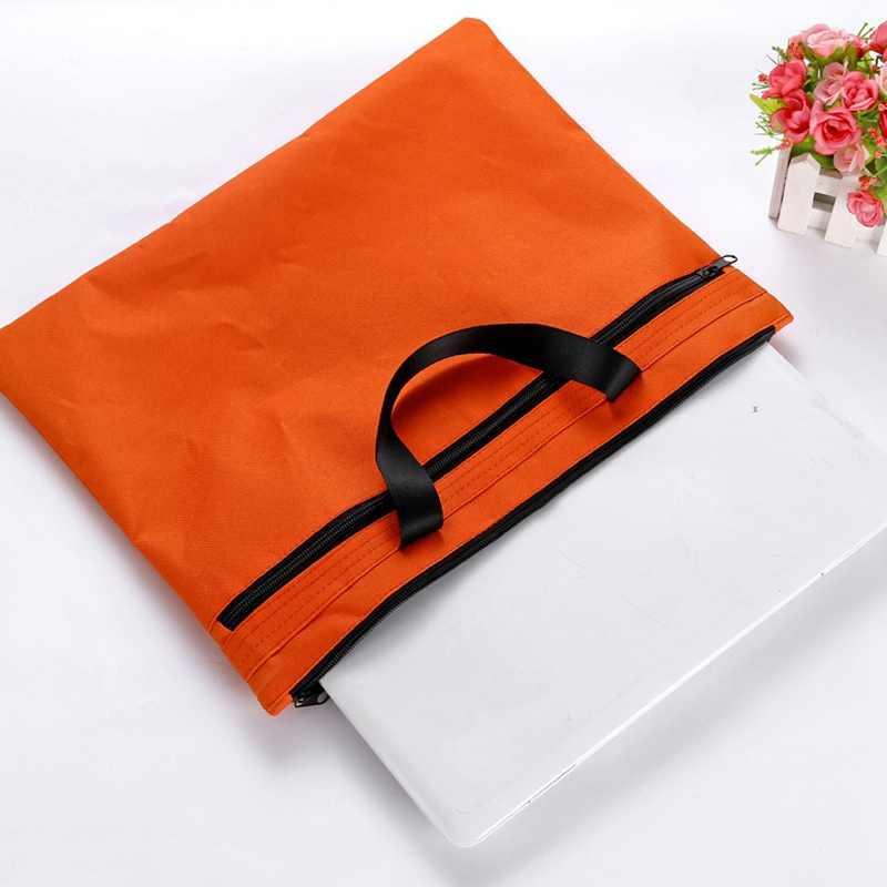 Hot Sale Pria Tas Laptop Portable Notebook Tas Dokumen Map Tas Macbook Tas untuk Bisnis Tas Warna Solid